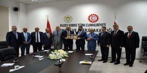 Ankara Ticaret Odası Başkanı Baran'dan Kıbrıs ziyareti
