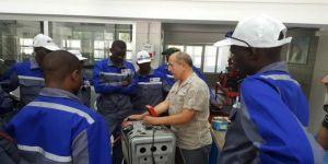 Sudanlı teknisyenlere Başkent'te eğitim