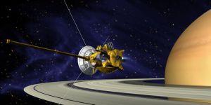 Cassini uzay aracı görevine veda ediyor