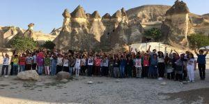 Altındağlı çocuklardan Kapadokya çıkarması