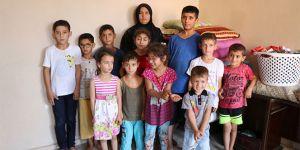 Savaştan kaçan Şeyme, 16 çocukla tek odalı evde kalıyor