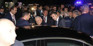Başbakan Yıldırım ile Demirören staddan birlikte ayrıldı