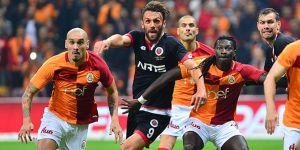 Galatasaray'dan gövde gösterisi