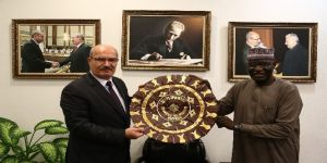 Nijerya Büyükelçisi'nden ATO'ya ziyaret
