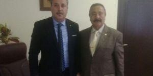 Çakır'dan Başkan Murat Ercan'a nezaket ziyareti