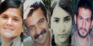 İşte öldürülen o 4 terörist: Kimlikleri belli oldu