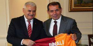 Özbek'ten Başbakan Yıldırım'a sürpriz