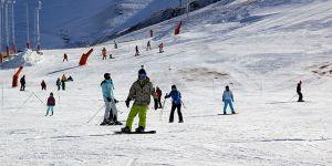 Palandöken'de hafta sonu kayak keyfi