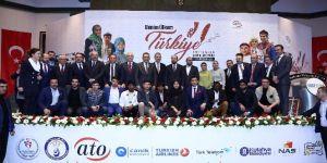 """""""Benim Ülkem Türkiye"""" ödül töreni ATO'nun ev sahipliğinde gerçekleşti"""