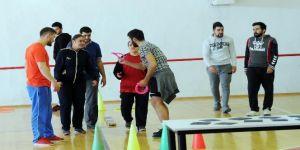 Yenimahalleli engelliler, Başkent'te spor yaptı