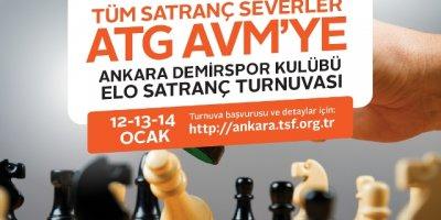 Satranç severler ATG'de buluşuyor