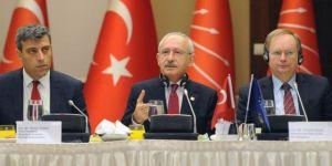 Kılıçdaroğlu AB üyesi ülkelerin büyükelçileri ile bir araya geldi