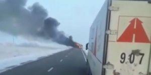 Otobüs alev aldı: 52 kişi hayatını kaybetti