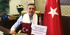 Mehmetçik'ten Başkan Çetin'e selam var