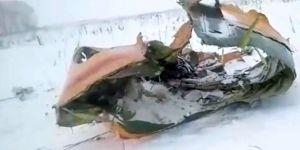 Rusya'daki uçağın düşme sebebi belli oldu