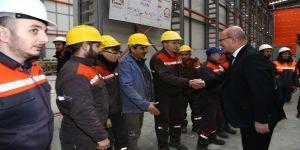 ATO Başkanı Baran, ilk yerli tünel açma makinesini inceledi