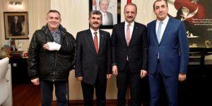 MEYAD'dan Mamak Belediye Başkanı Mesut Akgül'e ziyaret