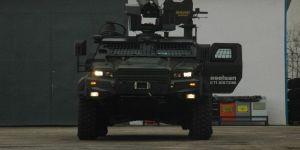 İnsansız Zırhlı kara aracı göreve hazır