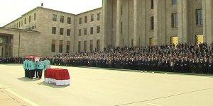Meclis'te Hasan Celal Güzel için tören düzenlendi