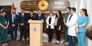Ankara'da sağlık çalışanlarına çirkin saldırı