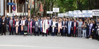 Festekin'18 açılış yürüyüşü yapıldı