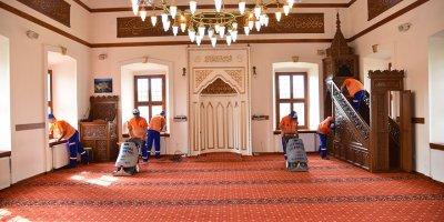Altındağ'ın camilerinde Ramazan hazırlığı