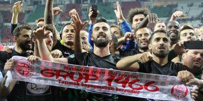 Akhisar tarih yazdı! Ziraat Türkiye Kupası Akhisar'ın oldu