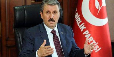 Mustafa Destici: İddialar gerçeği yansıtmıyor