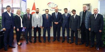 Ankara'da Birlik Derneği, ATO Başkanı Gürsel Baran'ı ziyaret etti