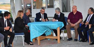 Başkan Mustafa Tuna, Evren'de