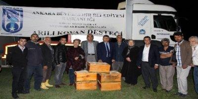 Ankara Büyükşehir Belediyesi'nden çiftçiye büyük destek