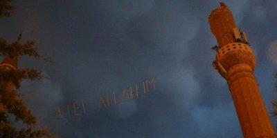 Diyarbakır'da camiye yıldırım düştü