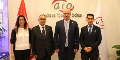ATO Başkanı Baran'a teşekkür ziyareti