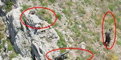Mehmetçik Kandil'e ilerliyor! İHA'lar gösterdi pilotlar vurdu