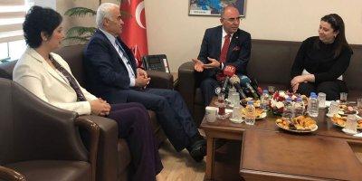 MHP, AK Parti heyetini ağırladı