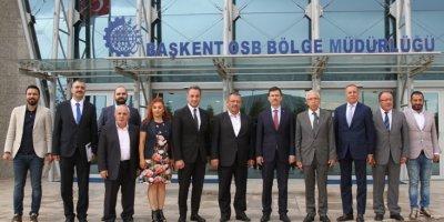Fatih Şahin'den Başkent OSB Bölgesi'ne ziyaret