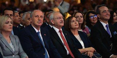 Kılıçdaroğlu, İnce ile ilk kez bir araya geldi