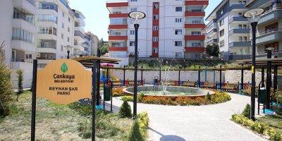 Çankaya parkları tamamlanıyor