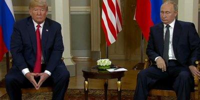 Trump ve Putin'den tarihi buluşma
