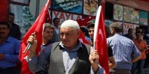 Dicle'de bir ilk:Halk ilk defa teröre karşı yürüdü