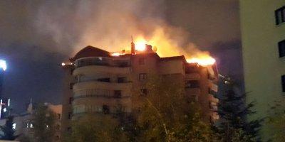 Başkent'te korkutan yangın