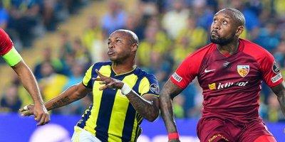 Kayserispor, Fenerbahçe'yi 3-2 yendi