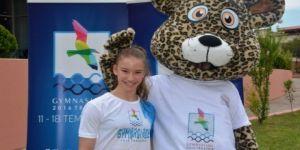 Şampiyon cimnastikçi bu kez Gymnasiade'de yarışacak