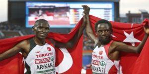 10 bin metre yarışlarında 1 altın, 1 gümüş madalya