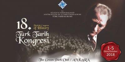 Türk Tarih Kongresi 1 Ekim'de Ankara'da başlıyor