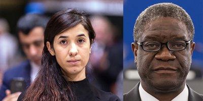 Nobel Barış Ödülü'ne Kongolu Denis ve Ezidi Murad'a verildi