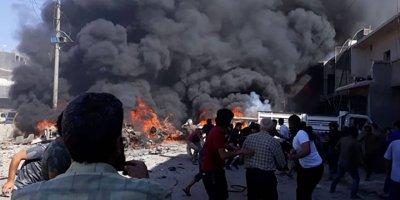 Azez'de terör saldırısı