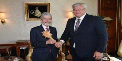 Hindistan ve Ukrayna Büyükelçilerden Başkan Tuna'ya ziyaret