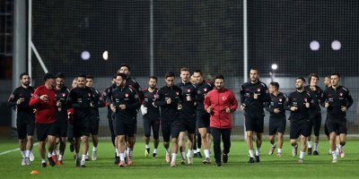 A Milli Takım Rusya maçına hazır!