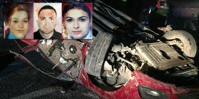Kayseri'deki katliam gibi kazada 4 kişi öldü